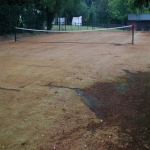 Athletics Surface Maintenance in Ash Bank 2