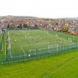 Football Pitch Maintenance in Pontygwaith 2