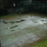 Athletics Surface Maintenance in Ash Bank 4