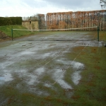 Artificial Pitch Maintenance in Bagham 10