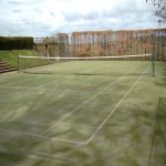 4G Astroturf Maintenance in Aston Rogers 3