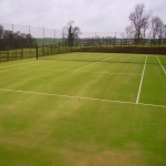 Astroturf Rejuvenation Cleaning Maintenance in Alderwasley 4