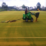 Sand Filled Pitch Maintenance in Balsham 2