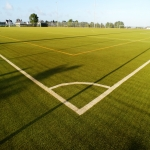 Astroturf MUGA Pitch Maintenance in All Stretton 1
