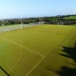 Artificial Rugby Pitch Cleaning in Borwick Rails 1