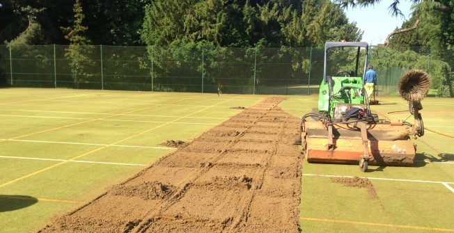 Artificial Sports Surface Maintenance in Down