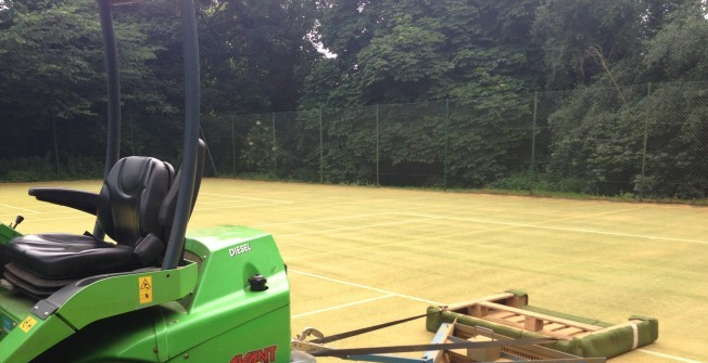 Synthetic Surface Cleaning in Anick