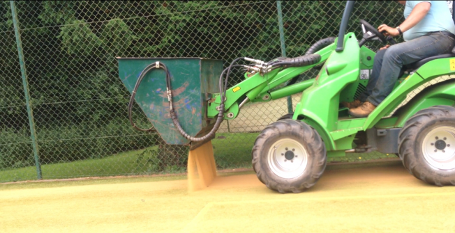 Artificial Pitch Maintenance in Aston Pigott