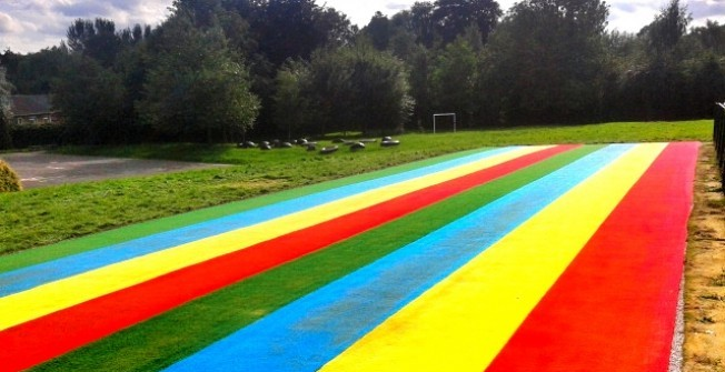 Athletics Track Maintenance in Abertrinant