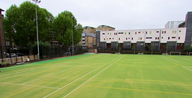 MUGA Pitch Specialists in Allerton