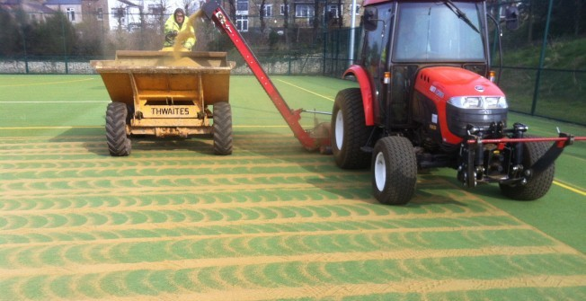 Multipurpose Sports Court Cleaning in Abergwili