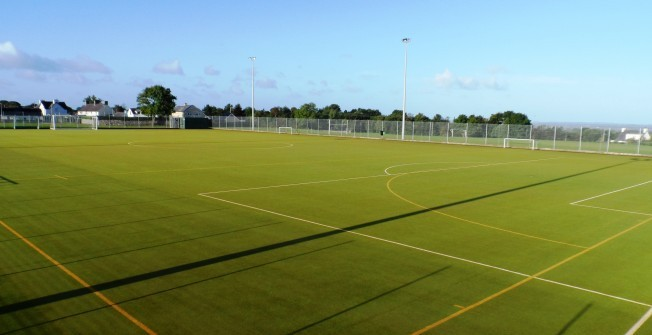 2G Sports Surface in Abergwyngregyn