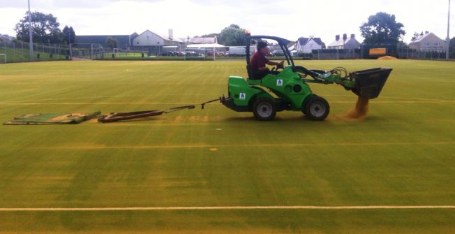 2G Pitch Maintenance in Bedwell