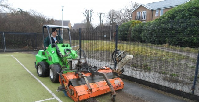 Maintenance for Football Surfaces in Pontygwaith