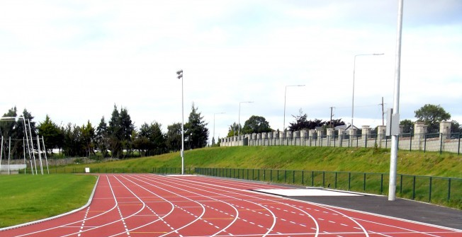 Running Track Maintenance in Abertrinant