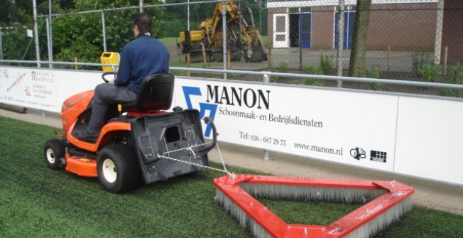 4G Astroturf Maintenance in Derbyshire