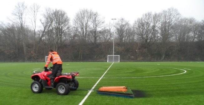 3G Turf Cleaning in South Ayrshire